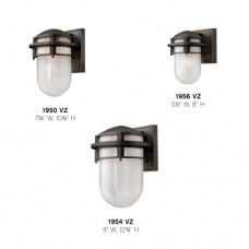 "Hinkley Lighting H1950 10.75"" Height 1 Light Outdoor Wall Sconce from the Reef Collection"