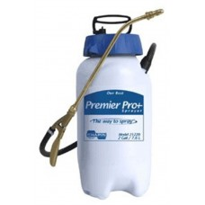 "Chapin Premier Pro XP Sprayer, Poly, 2 gal, 12"" Extension, 42"" Hose, Translucent   551505071"