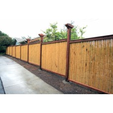 Backyard X-Scapes Bamboo Fencing, Natural   553741681