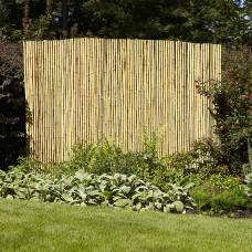 "Gardenpath 1"" Full Round Bamboo Fencing   553967704"
