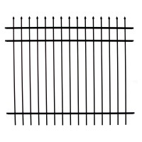 Specrail Madison Aluminum Fence Section 3-Rail Panel - 4 ft.