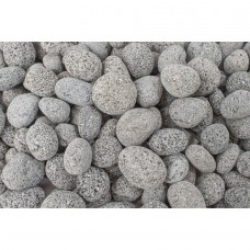 "20 lb Black Lava Pebble, 1"" to 2""   555017508"