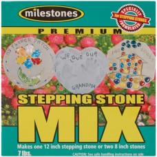 Milestones Premium Stepping Stone Mix 8lb Box   556485978