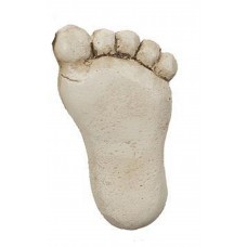 Right Foot - Miniature Footprint Stepping Stone - Garden Fantasy Collection by Ganz
