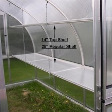 Exaco RiGA V Regular Shelf Bottom Shelf Greenhouse