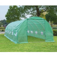 Outsunny Portable 26 x 10 ft. Walk-In Garden Greenhouse
