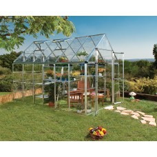 Palram Snap and Grow Greenhouse, 8' x 12'   555917898