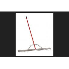 "Corona Clipper Rk61054 Landscape Rake With Aluminum Handle 36"" W 67"" Handle"