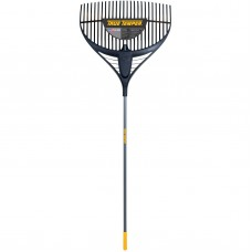 "True Temper 2919200 64"" Collector Series Poly Leaf Rake with 26"" Steel Handle   555352202"