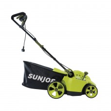 Sun Joe MJ506E Electric Reel Lawn Mower w/ Grass Catcher | 16 in | 6.5 Amp | Quad Wheel | 24 Blade   569976339