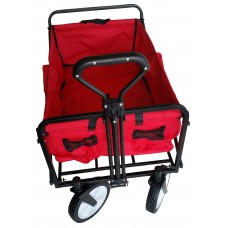 Heavy Duty Folding Utility Wagon Wheelbarrow Garden Cart Sports Cart Shopping Buggy   564722646