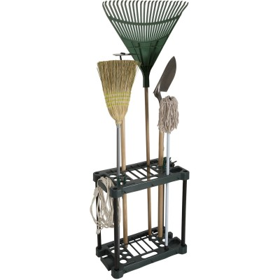 Stalwart Compact Garden Tool Storage Rack -  Fits Over 30 Tools   550564007
