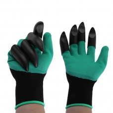 2 Pairs Plastic Claws Gardening Gloves for Digging Planting Gardening Gloves   569885693