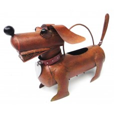 Blue Handworks Dachshund Dog Watering Can