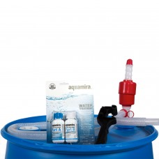 Augason Farms 55-Gallon Emergency Water Storage Supply Kit   550898427