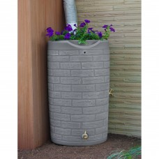 Impressions Downton 50-Gallon Rain Saver, Slate   554694772