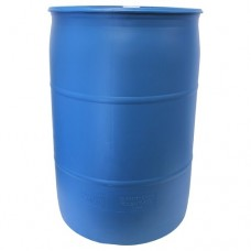 Rescue 55 Gallon Blue DIY Rain Barrel - Food Grade - Blue   568416157