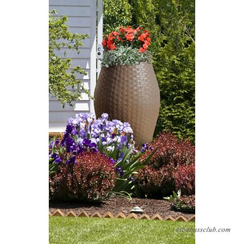 Rescue Stoneware Urn Rain Barrel Includes Planter Rain Water