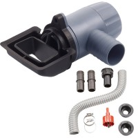 Universal Rain Barrel Rectangular Downspout Connection Kit   551600941