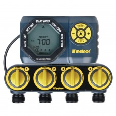 Melnor 4-Zone Digital Water Timer   557250199