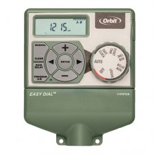 Orbit 6 Station Easy Dial Irrigation Sprinkler Timer w/ Smart Budgeting Feature