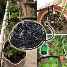 Drip Irrigation System Automatic DIY Micro Plant Self Watering Garden Hose Kits(25m/82' Drip Irrigation System)   568161990