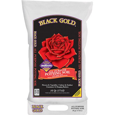 Black Gold 1410102 16 QT U 16 Quart All Purpose Potting Soil With   551508216
