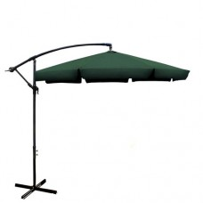 ALEKO 10' Adjustable Outdoor Garden Patio Banana Hanging Umbrella   555955838