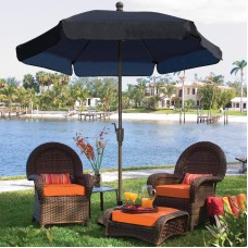 FiberBuilt 7.5-ft. Wind Resistant Garden Umbrella