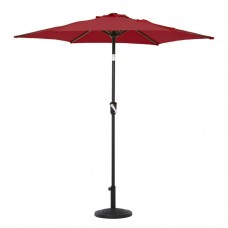 Grand Patio 7.5 ft. UV Protected Push Button Tilt and Crank Market Patio Umbrella
