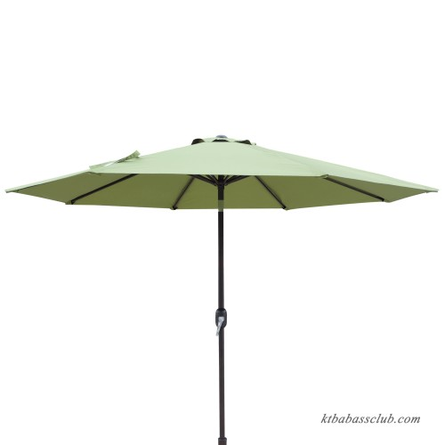 island umbrella trinidad 9 ft octagonal market umbrella in burgundy polyester with wind vent. Black Bedroom Furniture Sets. Home Design Ideas