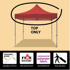 Party Tents Direct 10x10 50mm Speedy Pop Up Instant Canopy Event Tent Top ONLY, Various Colors