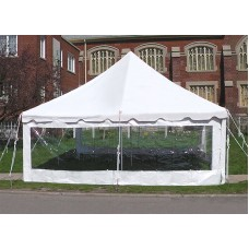 Party Tents Direct Event Tent Single Clear Side Wall ONLY (7x30)