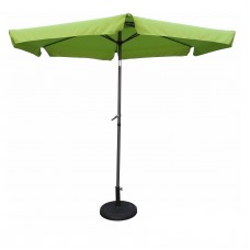 St. Kitts 9-foot Aluminum/ Polyester Fabric Patio Umbrella and Crank   567085385
