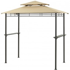 Mainstays Grill Gazebo with Optional Adjustable Awning   555626852