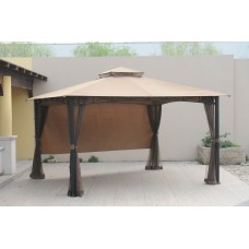 Sunjoy Replacement Mosquito Netting for L-GZ531PST-C 10X12 Smith And Hawken San Rafael Gazebo