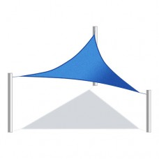 Aleko Triangular Waterproof Sun Shade Sail Canopy Tent Replacement, Choose Your Size And Color   556559481