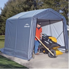 8' x 12' x 8' Peak Style Shelter, Green   554796077