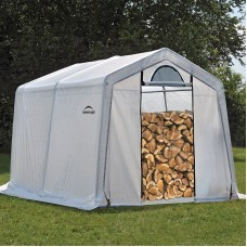 Firewood Seasoning Shed 10' x 10' x 8'   554797791