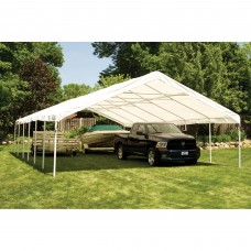 Shelterlogic Ultra Max 30' x 40' White Industrial Canopy   554795180