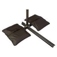 Saddlebag Style Sand Weight Bag for Anchoring Patio Umbrellas by Trademark Innovations (Single Unit)   565579790