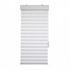 Heeshade V3684WH Plain Sheer Shade, White - 36 x 84 x 2 in.