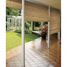 Sonoma Reed Natural Outdoor Roll-up Blinds (36 x 72)